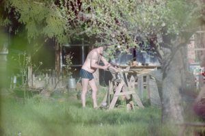 Men in Garden Series