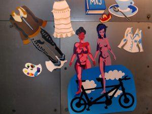 Michela Petrů exhibition at Fotografic