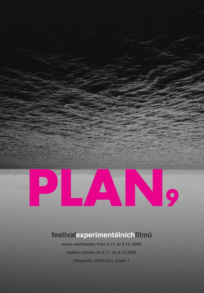 PLAN 9 film festival poster