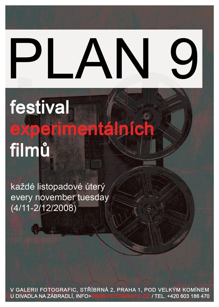 PLAN 9 2008 film festival poster