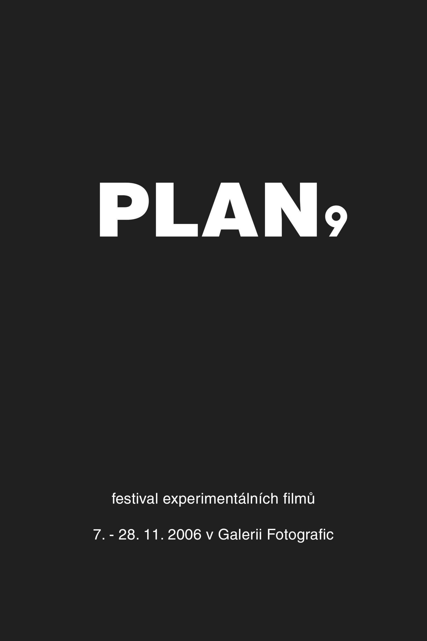 PLAN 9 2006 film festival at Fotografic - poster