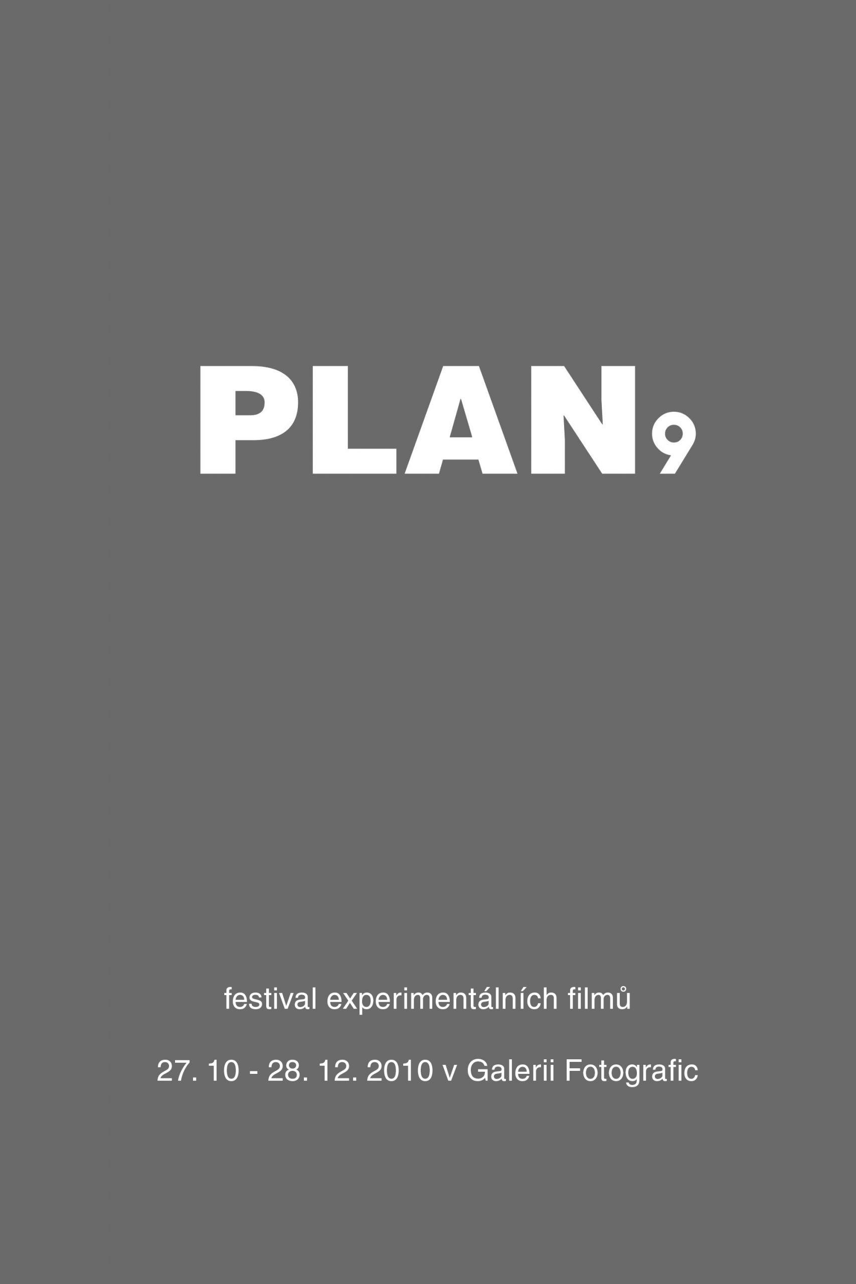 PLAN 9 2010 film festival at Fotografic - poster