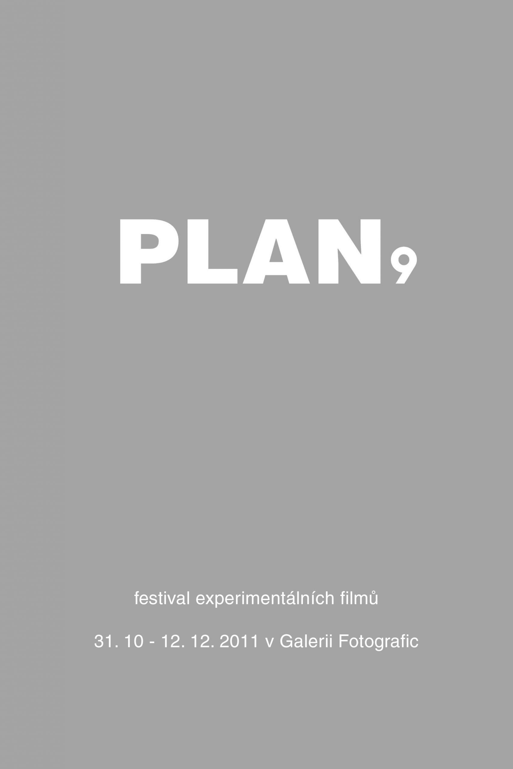 PLAN 9 2011 film festival at Fotografic - poster